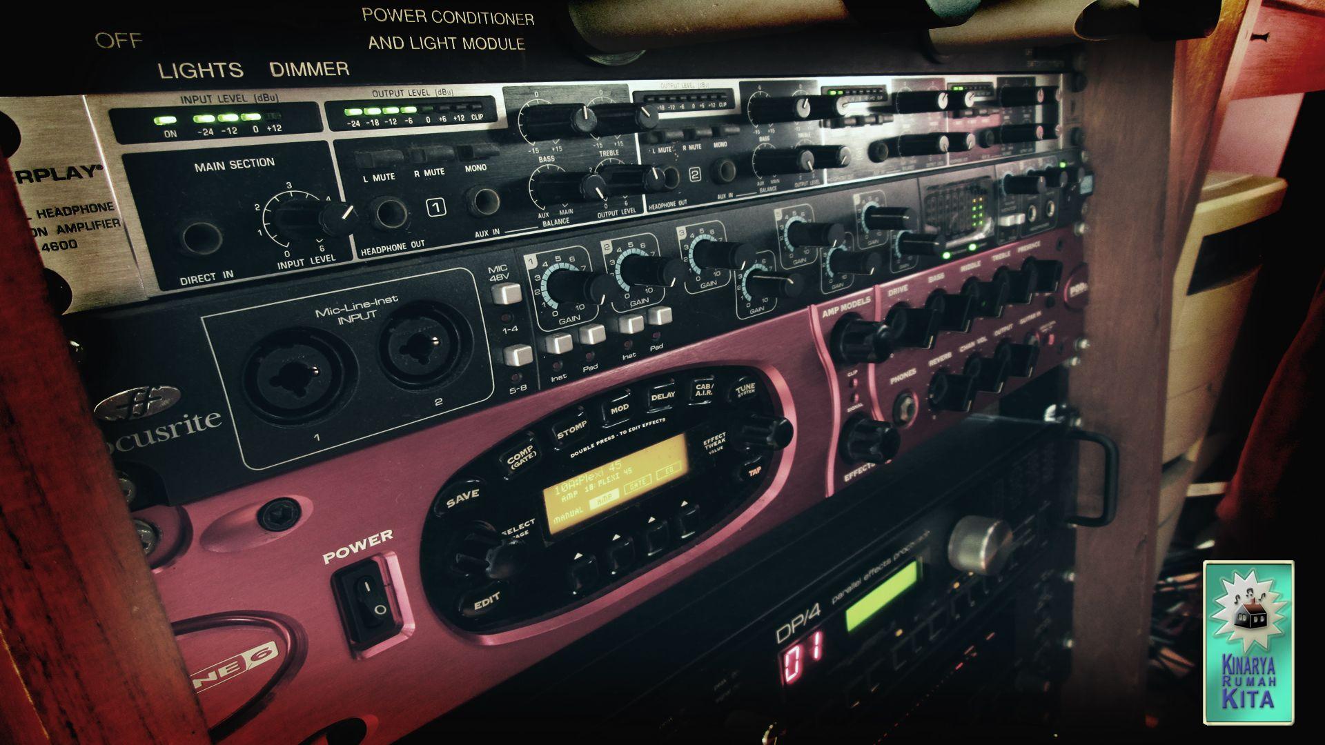 POD XT Pro Safire 40 Behringer Powerplay Pro-XL HA4700 | www krk co id