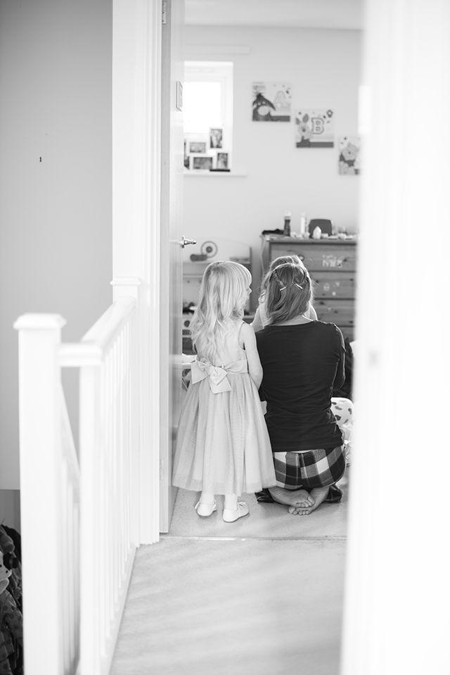 Steph and Nathan – WEDDING flower girl