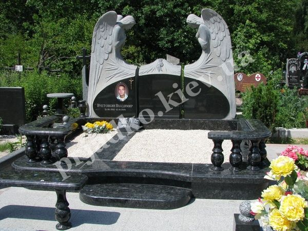 Памятники из гранита на кладбище в уфе волгоград памятники названия животных