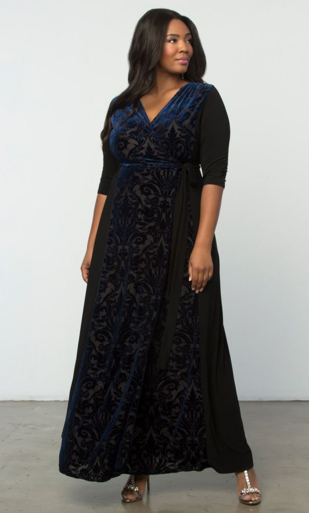 1870bfee1af Ornate Velvet Maxi Dress-Sale!