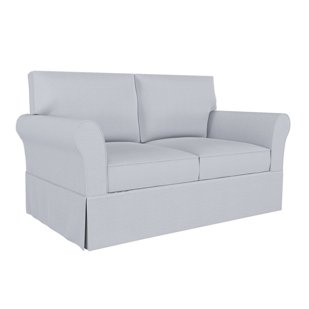 Pb Comfort Sofa Cover 81 83 5 Roll Arm Box Edge In 2020 Sofa Covers Seat Cushion Covers Rolled Arms
