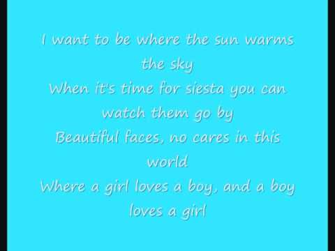 Madonna La Isla Bonita Lyrics