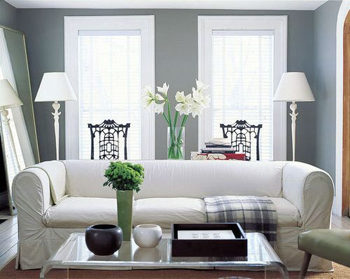 Grey And White Living Room By The Sugar Monster, Via Flickr Part 16