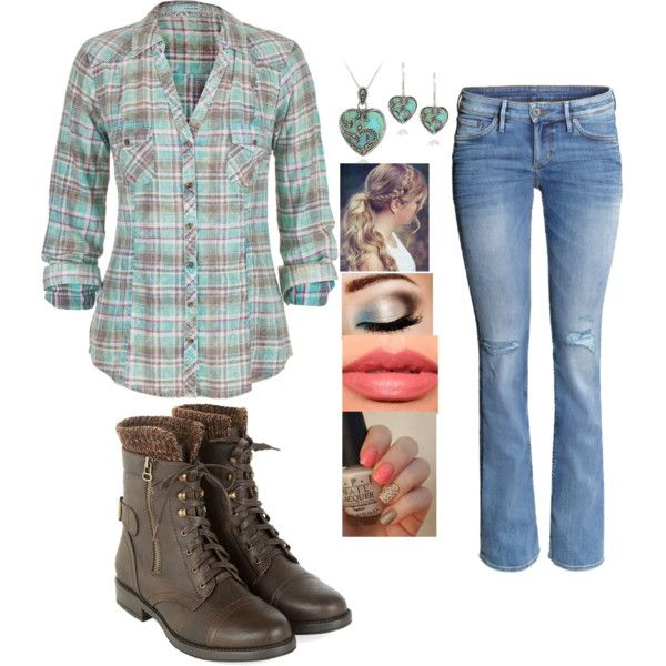 Turquoise Heart by sarabray on Polyvore featuring polyvore fashion style maurices H&M Glitzy Rocks Bite