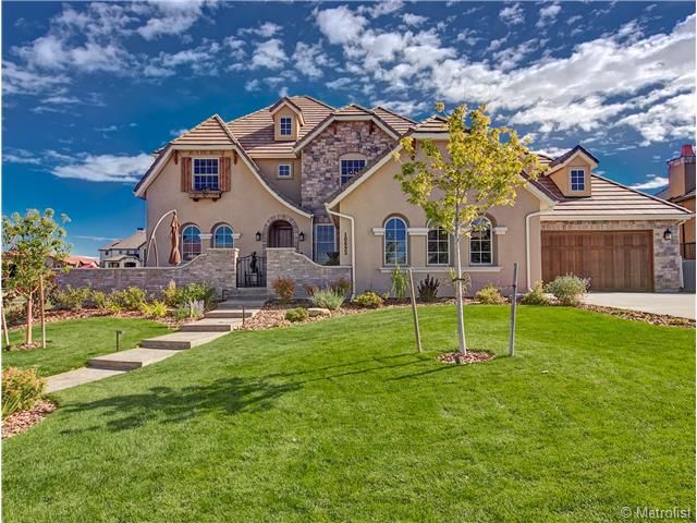 10692 Flowerburst Court, Highlands Ranch CO 80126 Extraordinary French  Contemporary Home Located In The Perfect