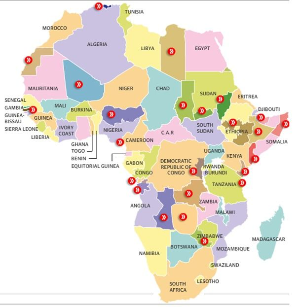 The separatist map of africa interactive africa geography and ap articles on human geography the separatist map of africa devolution gumiabroncs Choice Image