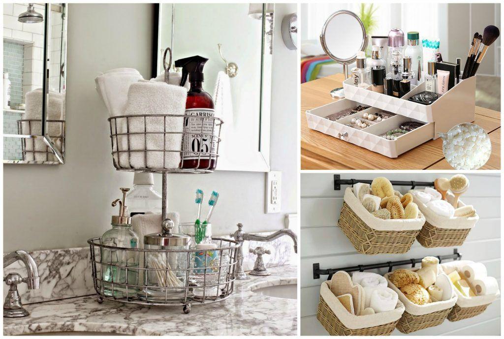 13 Brilliant Ways to Organize Your Bathroom #Niti Bathroom
