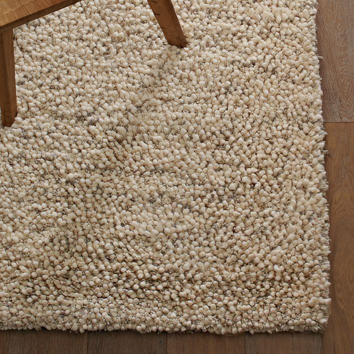 Bello Shag Wool Rug Jute Wool Rug Modern Wool Rugs Wool Rug