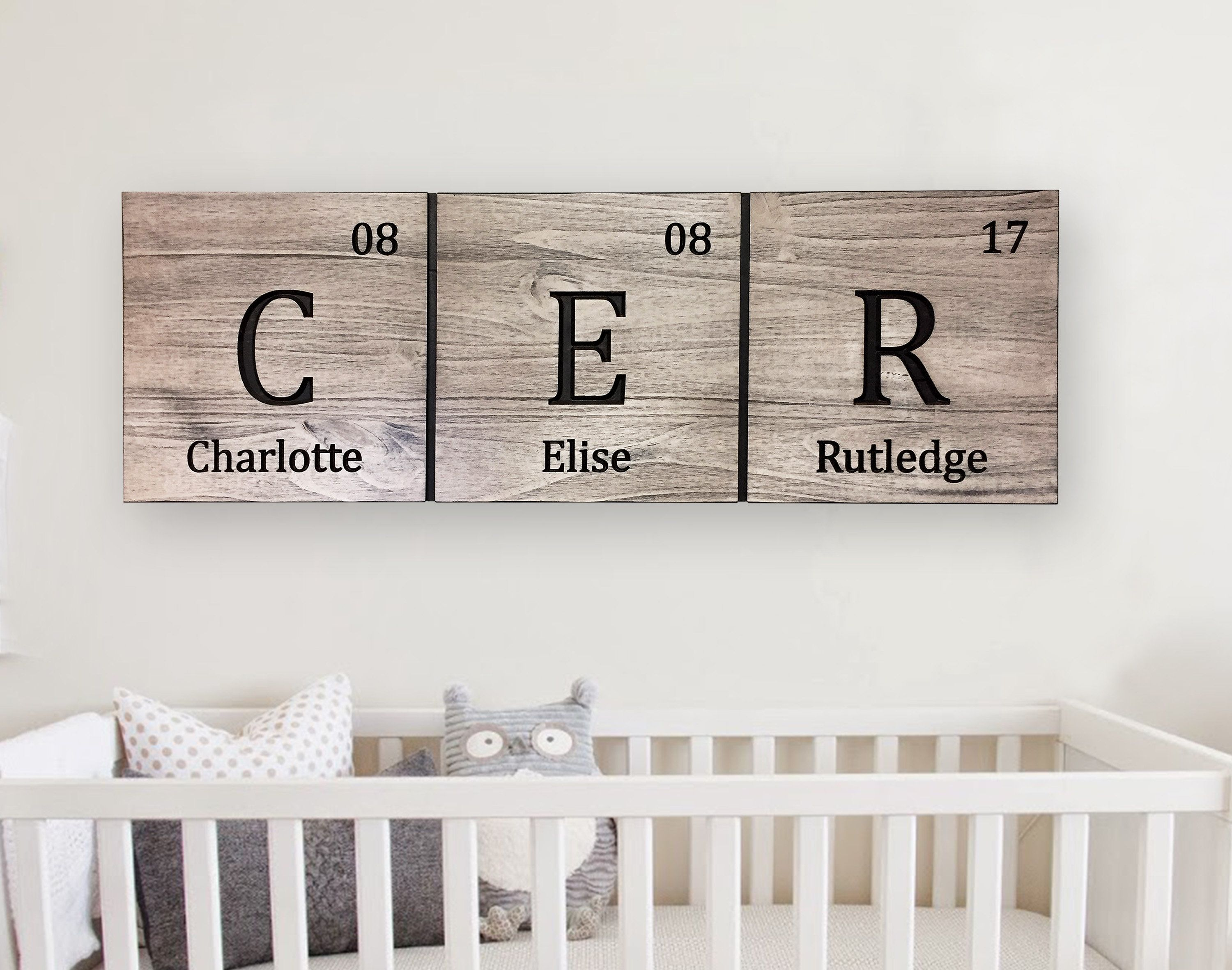 Childs birth date sign periodic table elements personalized childs birth date sign periodic table elements personalized name date urtaz Choice Image