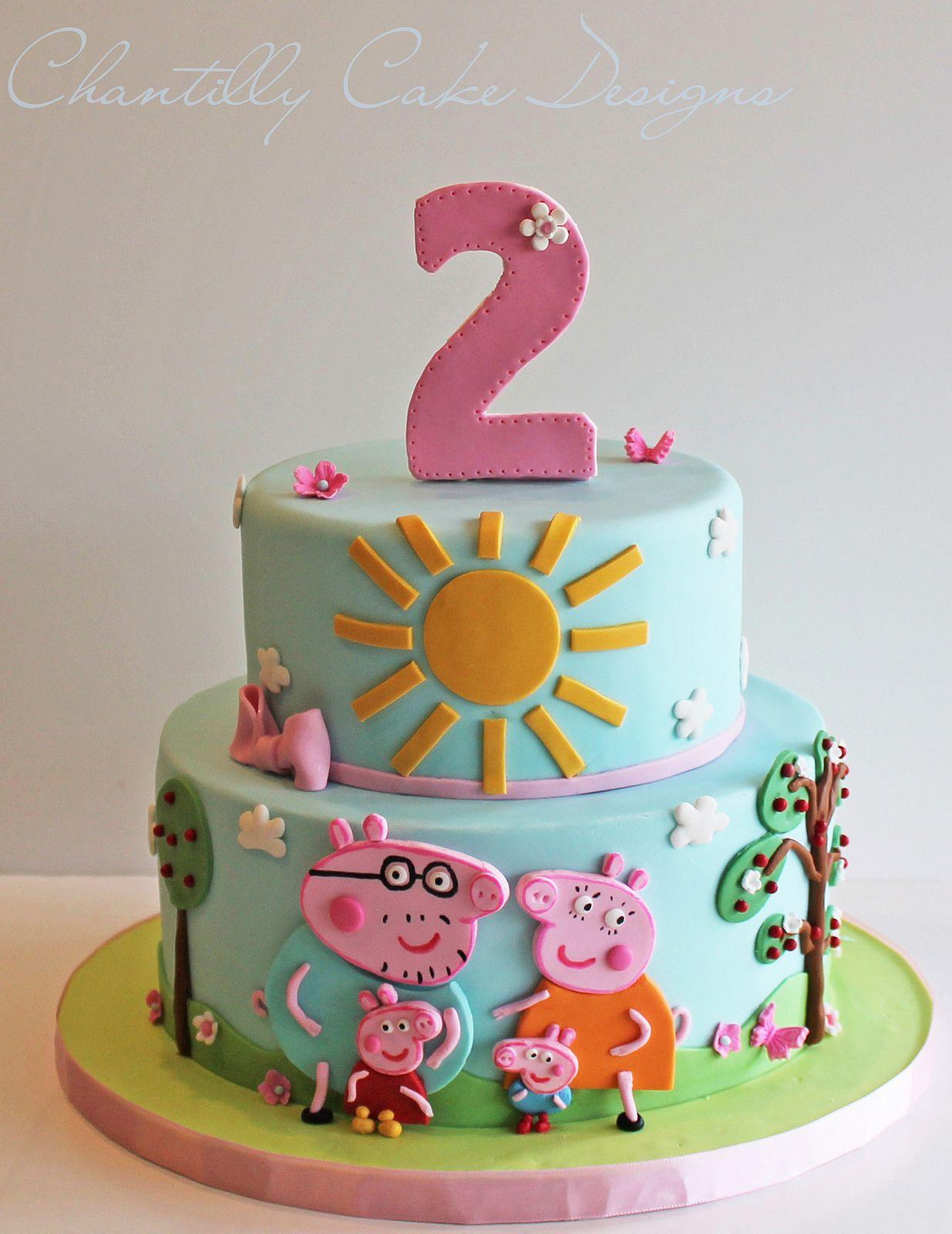 Peppa Pig Cake Pig Birthday Cakes Peppa Pig Birthday Cake Cake