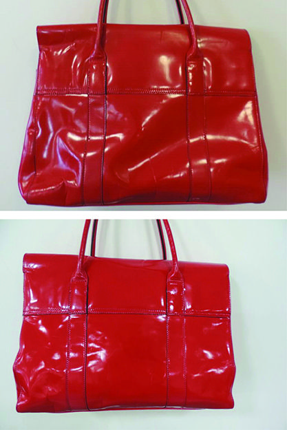 Our Patent Clean restored the shine to this Mulberry Bayswater, making the bag look as shiny new thehandbagspa.com
