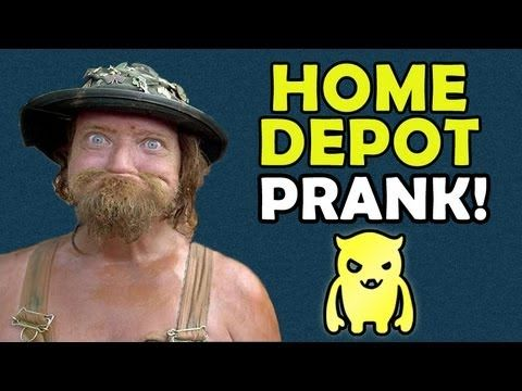 Home Depot Patio Prank