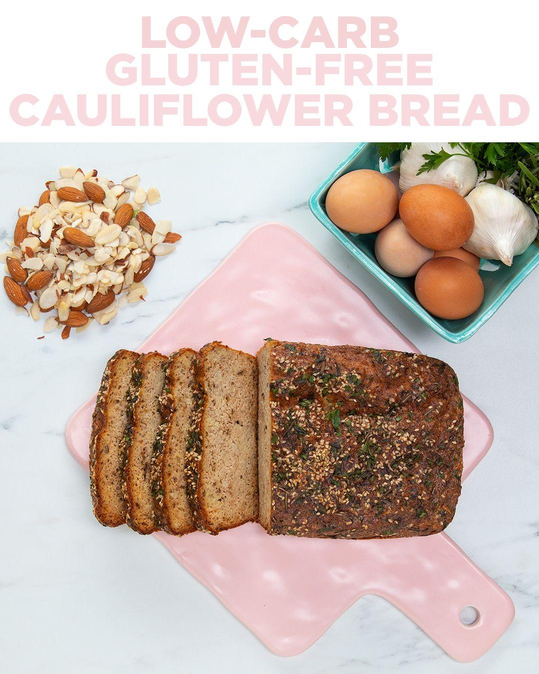 Gluten Free Cauliflower Bread Recipe Cauliflower Bread Gluten