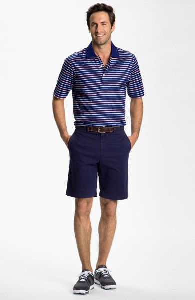 Iliac golf men 39 s pro tour shorts on sale today high end for High end golf shirts