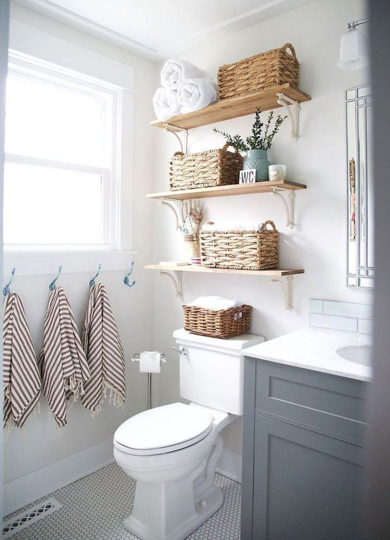 Photo of 34 Efficient Small Bathroom Storage Organization Ideas