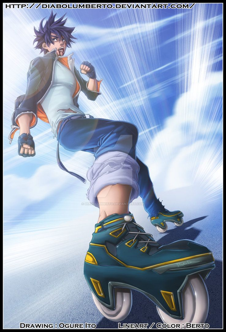 Air Gear by diabolumberto on DeviantArt