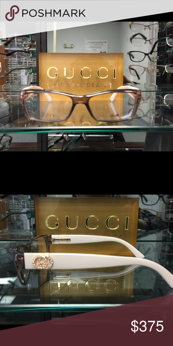 4de75a819dac Gucci Optic Frame Gucci Optic Frame made in Italy of Optyl acetate in  neutral brown and