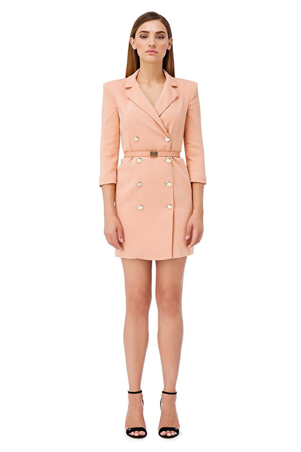 e4ba0b70cc24 Mini abito doppiopetto - Elisabetta Franchi