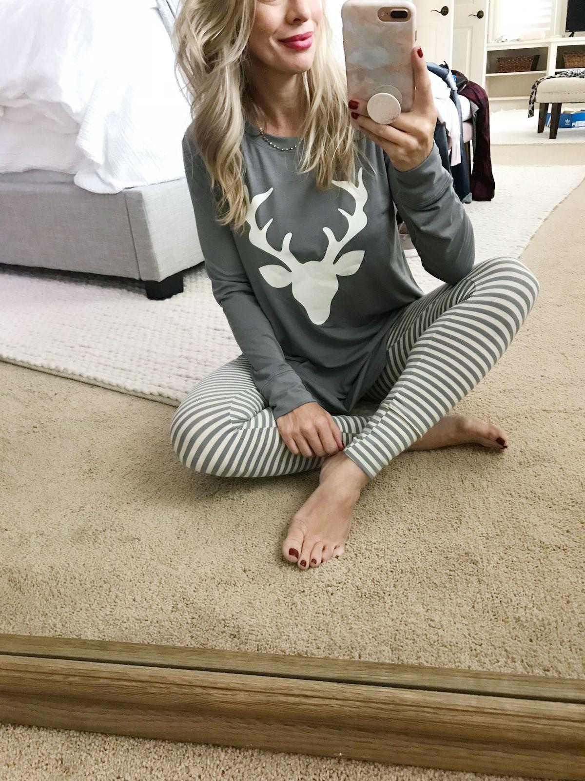 AMAZON TRYON & GIFT GUIDE Pajamas women, Cute christmas