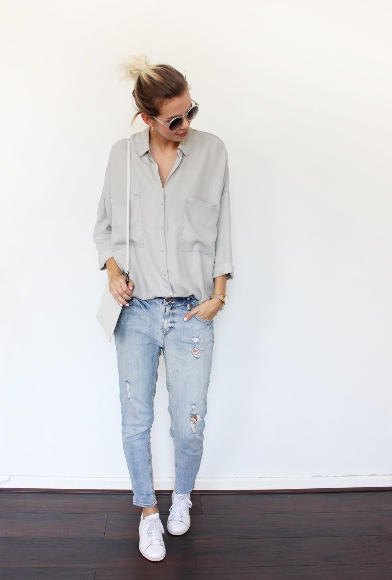 THE GREY SHIRT (Connected to fashion) | Fashion, Style, Grey