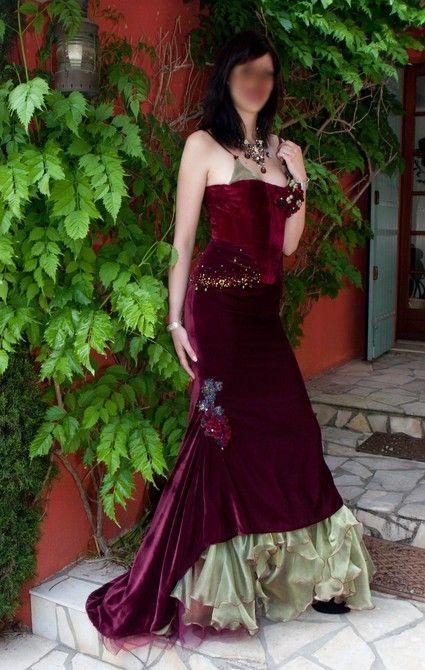 Robe de mariée couleur - Gironde