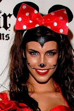 minnie mouse makeup - Google Search | Holiday | Pinterest | Minnie ...