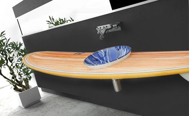Surfboard Bench Google Search Surfboards Surf House