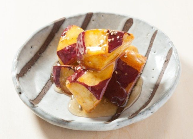 Candied Fried Sweet Potatoes