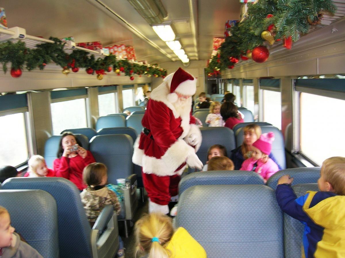 The Polar Express Train Ride Great Smoky Mountain Railroad Polar Express Train Ride Polar Express Train Train Rides