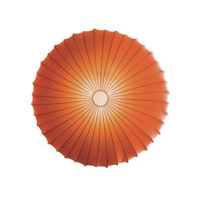 Axo Light Muse 3 Light Flush Mount Size: Extra Large, Color: Orange