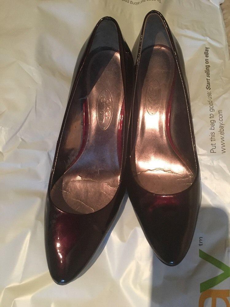 Circa Joan & David Ladies Patent Leather Pumps Size 7.5M #CIRCAJOANDAVID  #PumpsClassics