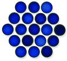 Sapphire 18mm Mosaic | Topps tiles, Mosaic, Mosaic tiles