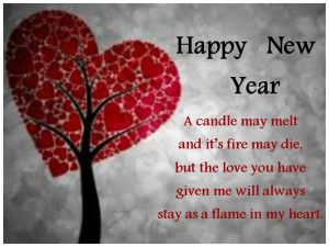 Happy New Year Love Letter 2014