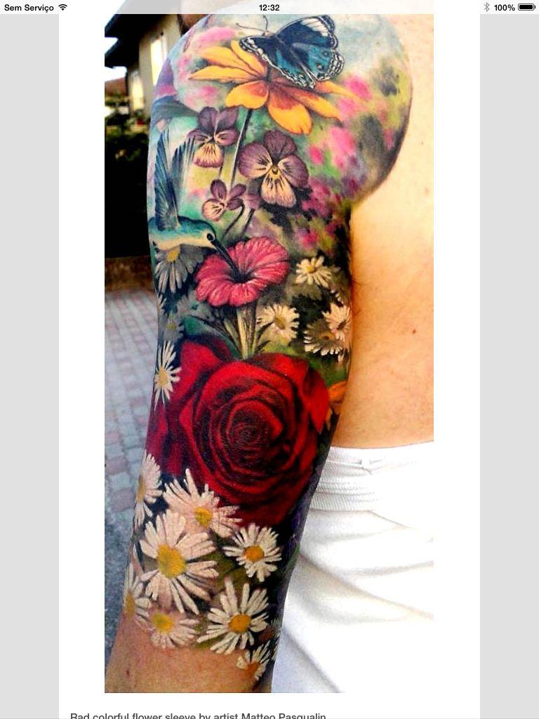Tatoo flowers