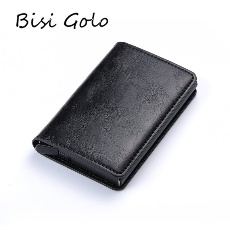 Buy BISI GORO 2018 Business Credit Card Holder Men And Women Metal ...