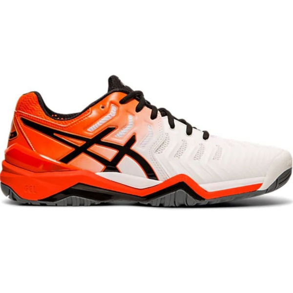 Asics Men S Gel Resolution 7 Tennis Shoes White Koi Asics Tennis Shoes Outfit Asics Men