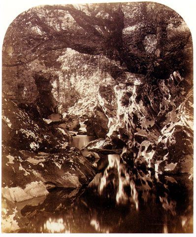 Roger Fenton  The Double Bridge on the Machno  1857