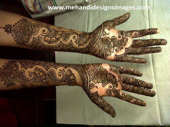 Bridal Mehndi Gta : Rajasthani bridal mehndi designs for full hands google search