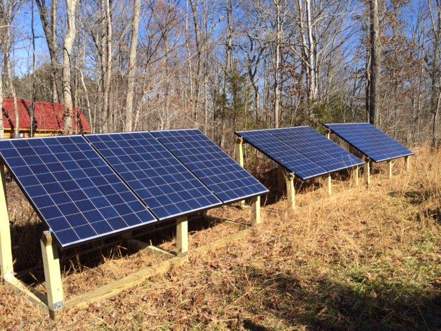 Solar Panels For Tiny Houses How I Went Off Grid With My Tiny House Best Solar Panels Solar Panels Solar Panel Installation