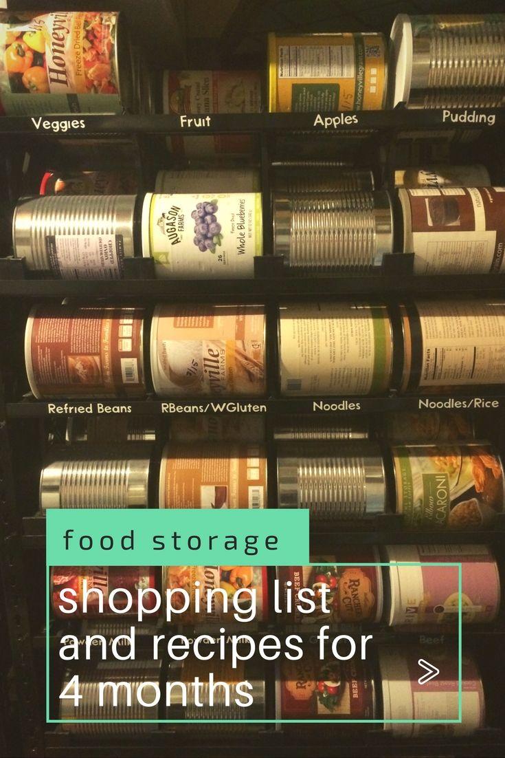 1 year food storage challenge food storage recipes
