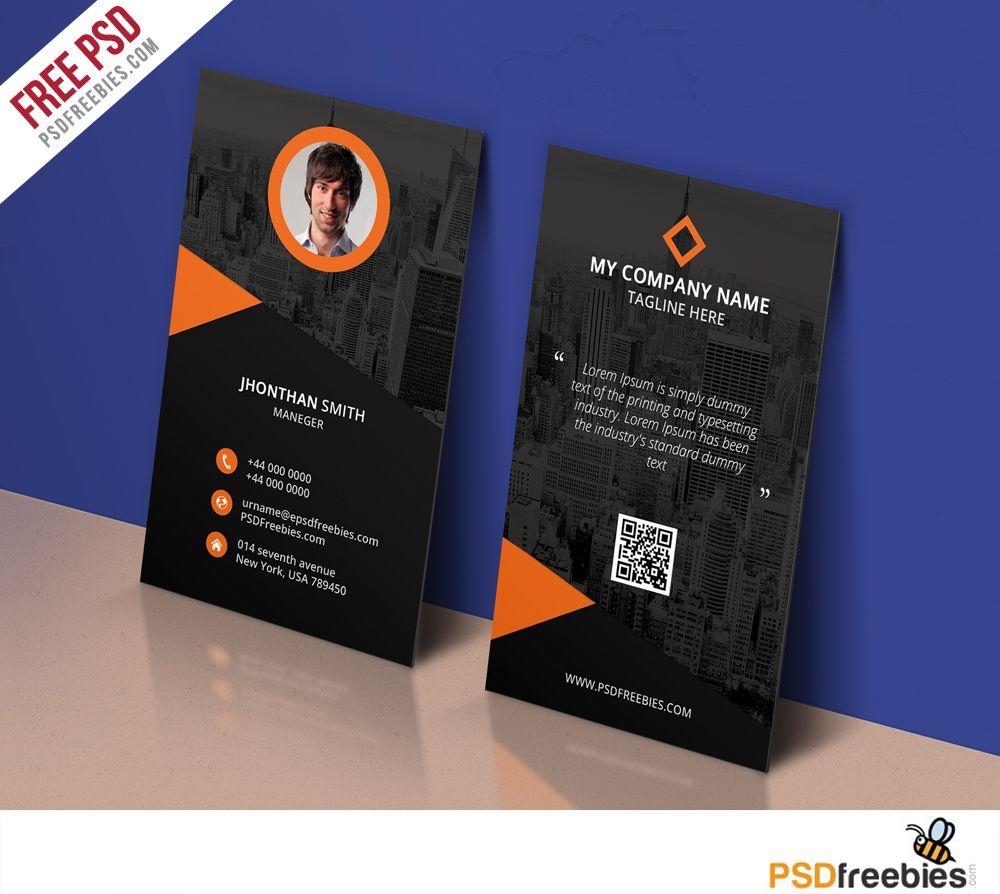 Modern corporate business card template free psd psd print download modern corporate business card template free psd business card free psd is perfect for any personal or corporate use you can edit easily wajeb Gallery