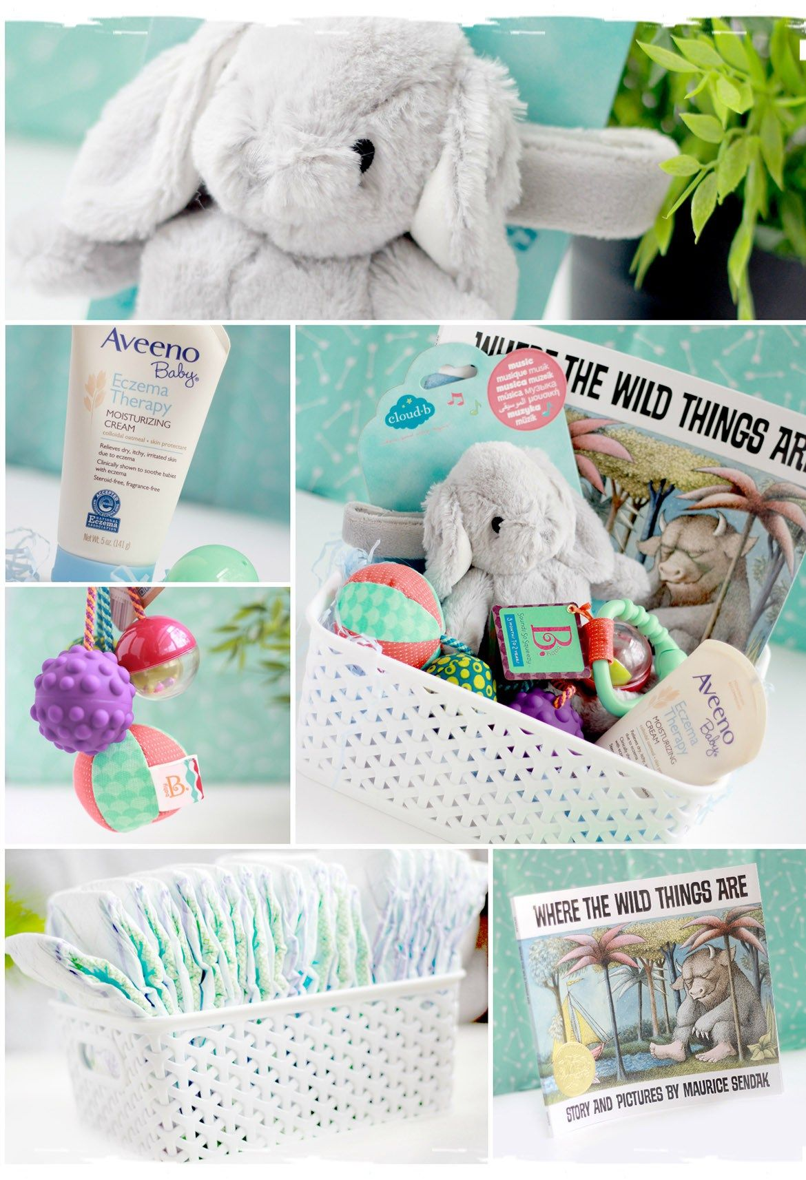 Infant easter basket my little baby pinterest easter baskets infant easter basket negle Images