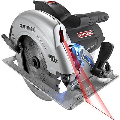 Craftsman 10870 7 1 4 Circular Saw With Laser Trac And Led Worklight 10870 Circular Saw Craftsman Craftsman Tools