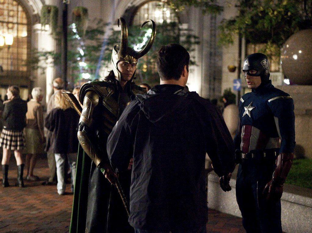THE AVENGERS Unseen Photos And Videos Spotlight Tom Hiddleston's LOKI Behind-the-Scenes