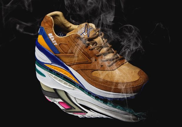 e2d2462640c Japan s mita sneakers Collaborates With Brooks On The Resurgent Beast 1