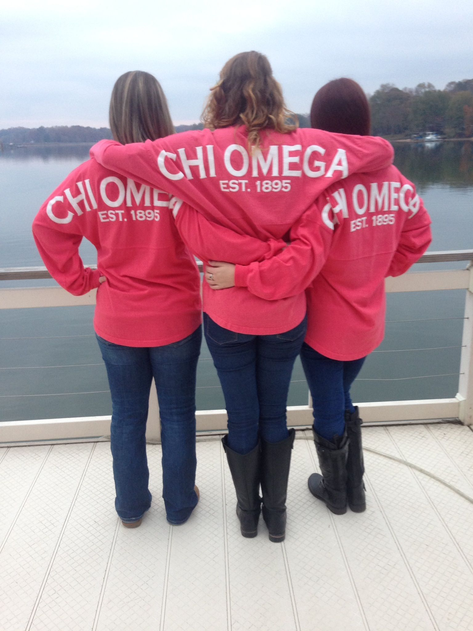 Chi Omega, Winthrop University, Spirit Jerseys, Sisters