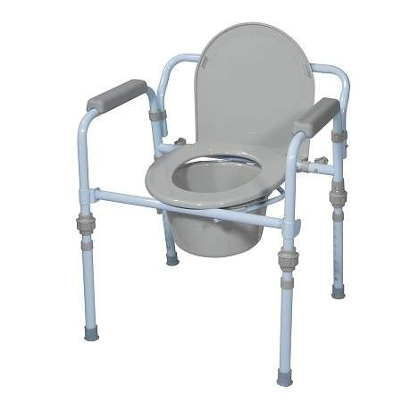 Foldable Commode Chair Available at