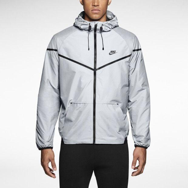 Nike Tech Windrunner Iridescent Men's Jacket Size Large