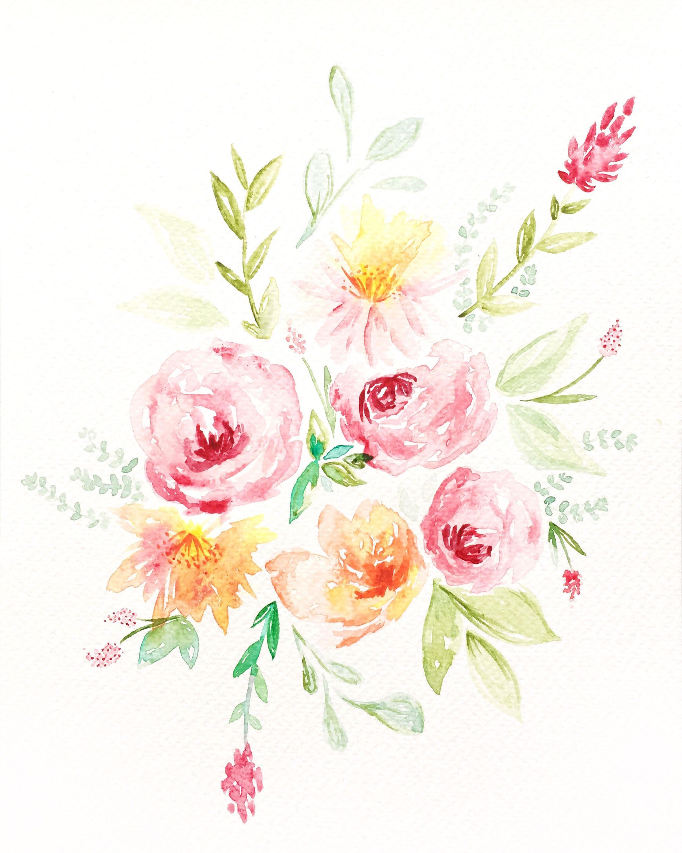 Aquarelle Du Jour Watercolor Flowers Watercolor Cards
