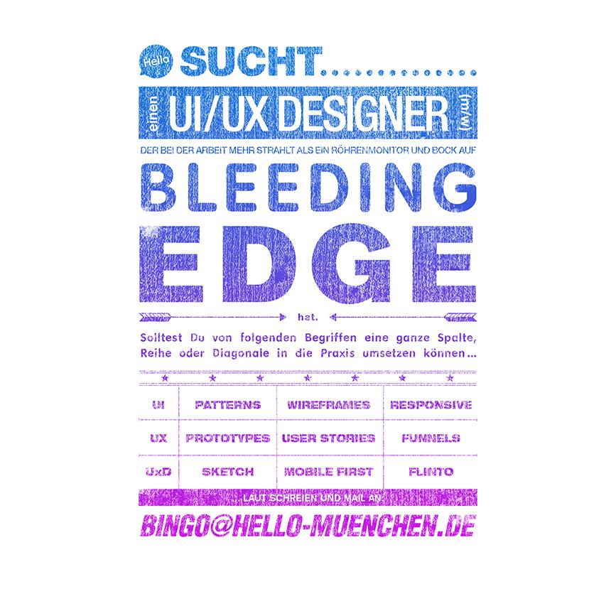 Hello München   Werbeagentur für Kommunikation   München - UI/UX Designer